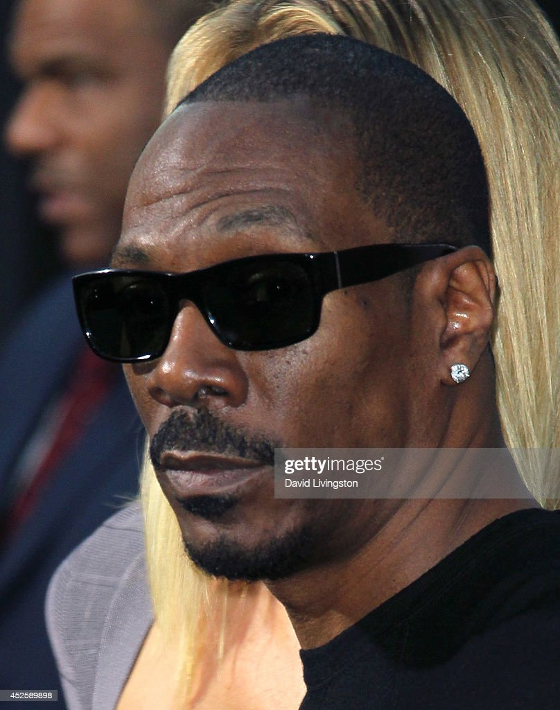 Actor Eddie Murphy attends the premiere of Paramount Pictures' 'Hercules' at the TCL Chinese Theatre on July 23 2014 in Hollywood California