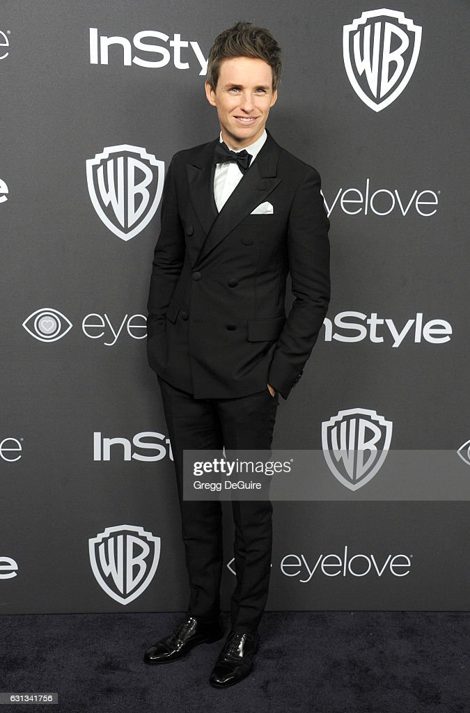 Actor Eddie Redmayne arrives at the 18th Annual Post-Golden Globes Party hosted by Warner Bros. Pictures and InStyle at The Beverly Hilton Hotel on January 8, 2017 in Beverly Hills, California.