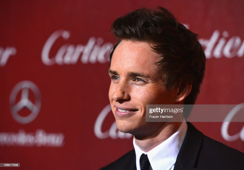 aCTOR Eddie Redmayne arrives at The 24th Annual Palm Springs International Film Festival Awards Gala on January 5, 2013 in Palm Springs, California.