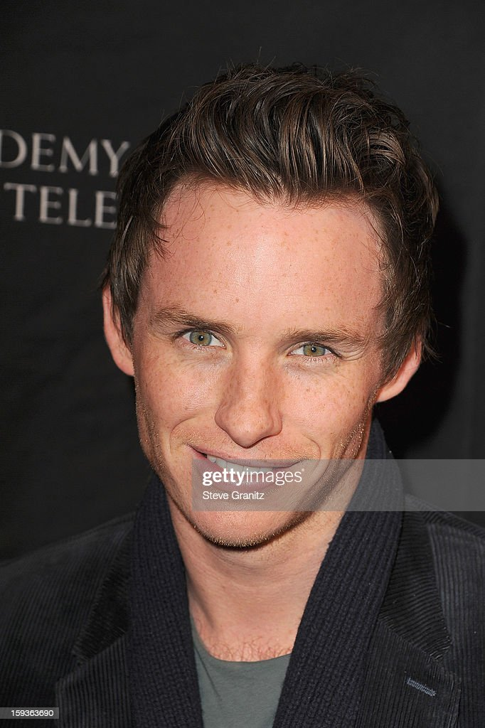 Actor <a gi-track='captionPersonalityLinkClicked' href=/galleries/search?phrase=Eddie+Redmayne&family=editorial&specificpeople=2554844 ng-click='$event.stopPropagation()'>Eddie Redmayne</a> arrives at the BAFTA Los Angeles 2013 Awards Season Tea Party held at the Four Seasons Hotel Los Angeles on January 12, 2013 in Los Angeles, California.