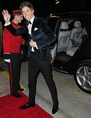 Actor Eddie Redmayne arrives with MercedesBenz at the 26th annual Palm Springs International Film Festival Awards Gala on January 3 2015 in Palm...