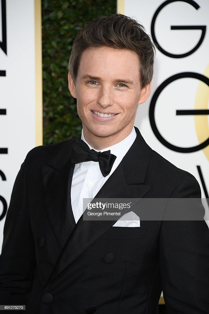 Actor Eddie Redmayne attends 74th Annual Golden Globe Awards held at The Beverly Hilton Hotel on January 8, 2017 in Beverly Hills, California.