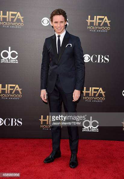 Actor Eddie Redmayne attends the 18th Annual Hollywood Film Awards at The Palladium on November 14 2014 in Hollywood California