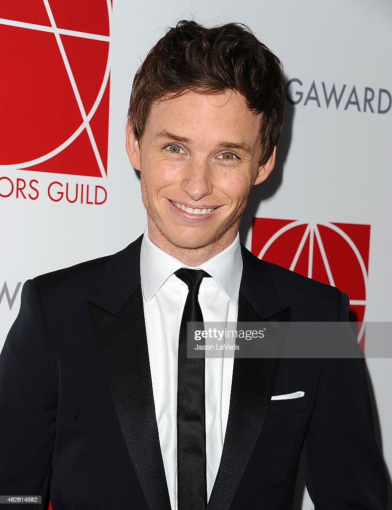 Actor Eddie Redmayne attends the 19th annual Art Directors Guild Excellence In Production Design Awards at The Beverly Hilton Hotel on January 31, 2015 in Beverly Hills, California.