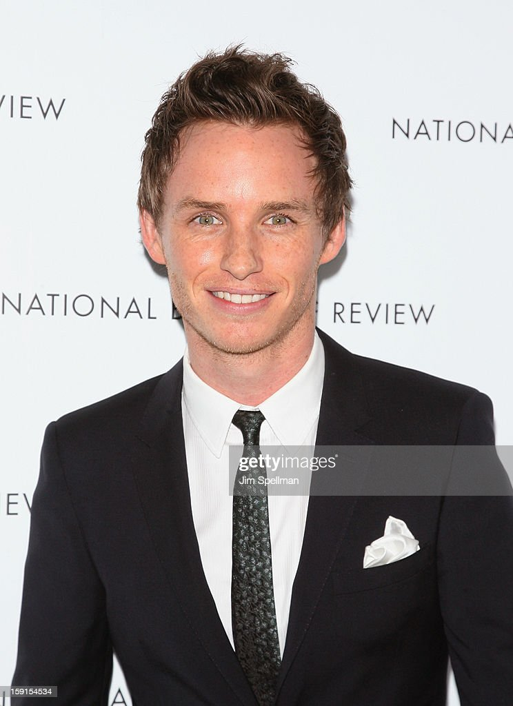 Actor Eddie Redmayne attends the 2013 National Board Of Review Awards Gala at Cipriani Wall Street on January 8, 2013 in New York City.