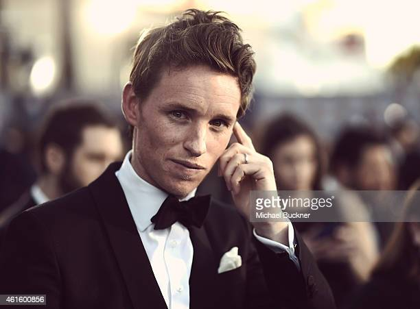 Actor Eddie Redmayne attends the 20th Annual Critics' Choice Movie Awards at the Hollywood Palladium on January 15 2015 in Los Angeles California
