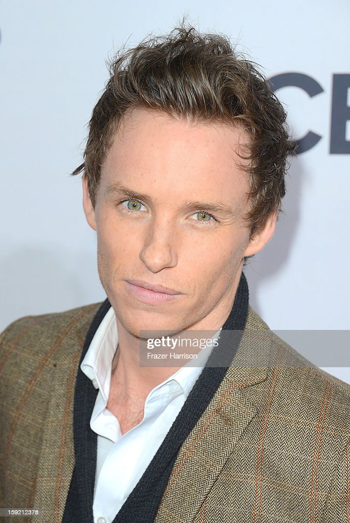 Actor <a gi-track='captionPersonalityLinkClicked' href=/galleries/search?phrase=Eddie+Redmayne&family=editorial&specificpeople=2554844 ng-click='$event.stopPropagation()'>Eddie Redmayne</a> attends the 39th Annual People's Choice Awards at Nokia Theatre L.A. Live on January 9, 2013 in Los Angeles, California.