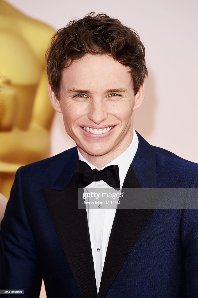 Actor Eddie Redmayne attends the 87th Annual Academy Awards at Hollywood & Highland Center on February 22, 2015 in Hollywood, California.