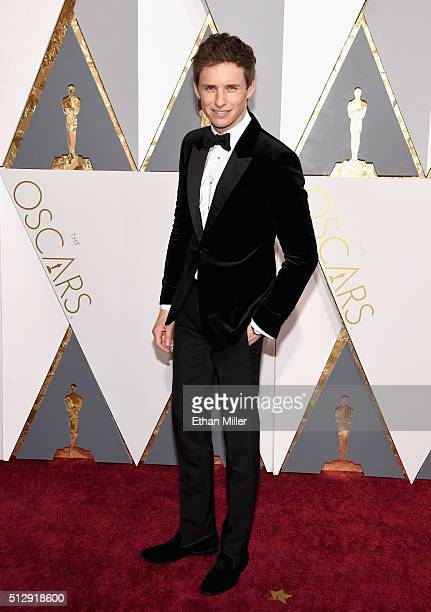 Actor Eddie Redmayne attends the 88th Annual Academy Awards at Hollywood Highland Center on February 28 2016 in Hollywood California