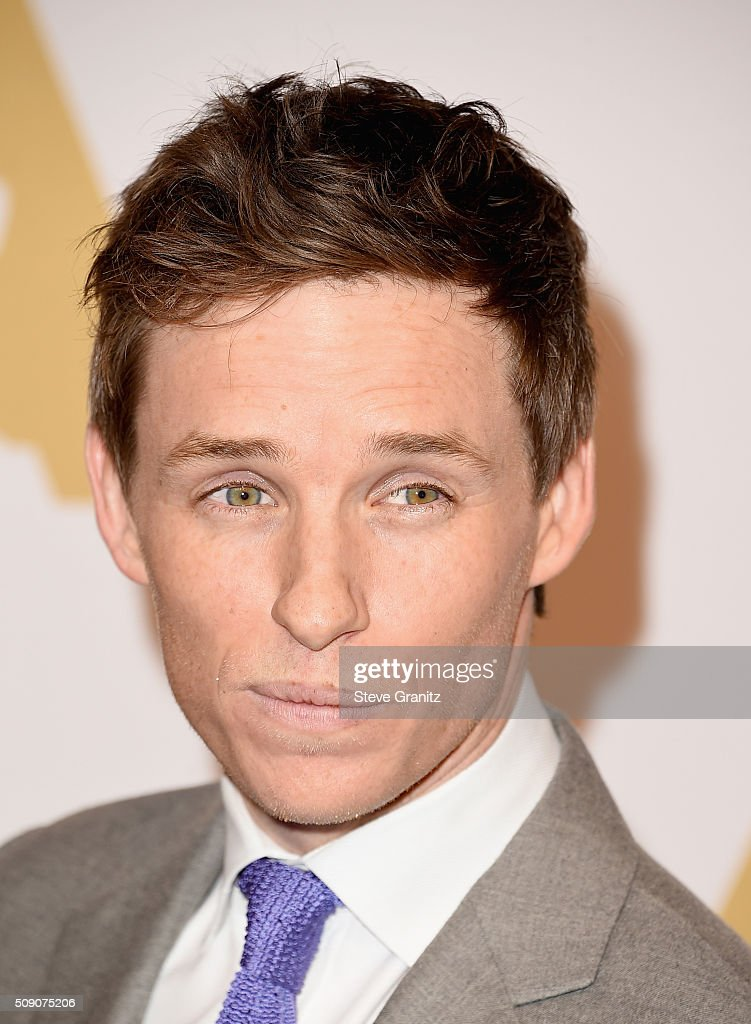 Actor <a gi-track='captionPersonalityLinkClicked' href=/galleries/search?phrase=Eddie+Redmayne&family=editorial&specificpeople=2554844 ng-click='$event.stopPropagation()'>Eddie Redmayne</a> attends the 88th Annual Academy Awards nominee luncheon on February 8, 2016 in Beverly Hills, California.