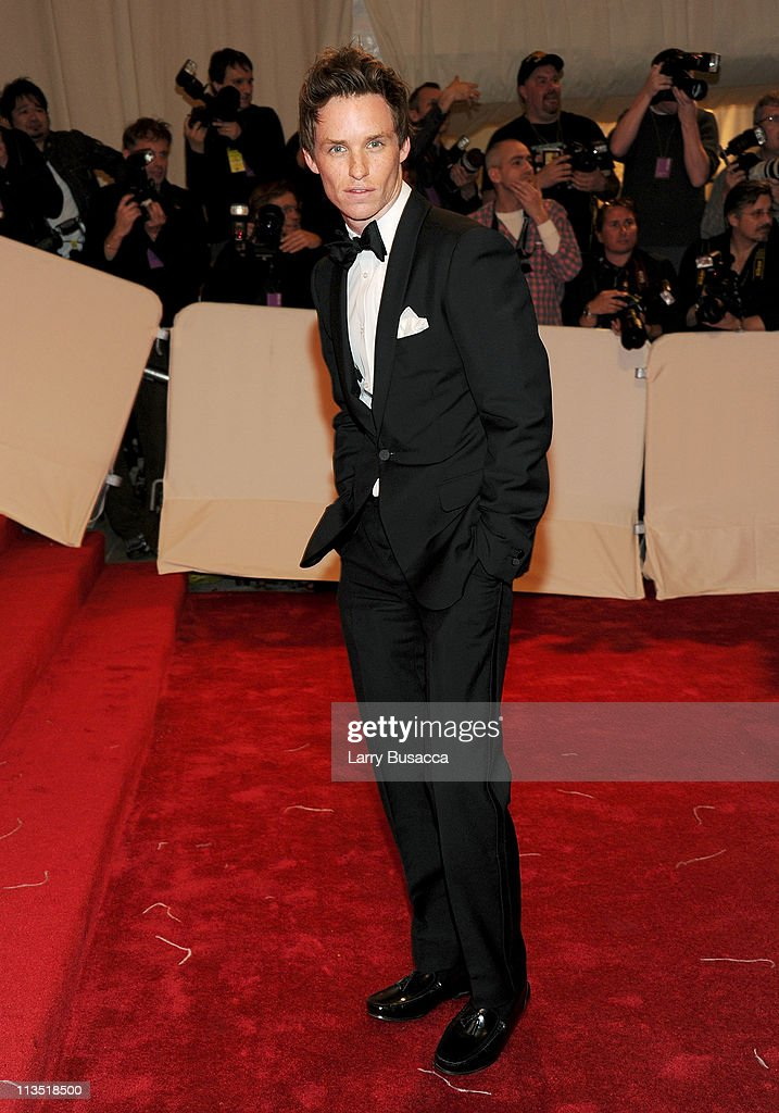 Actor Eddie Redmayne attends the 'Alexander McQueen: Savage Beauty' Costume Institute Gala at The Metropolitan Museum of Art on May 2, 2011 in New York City.