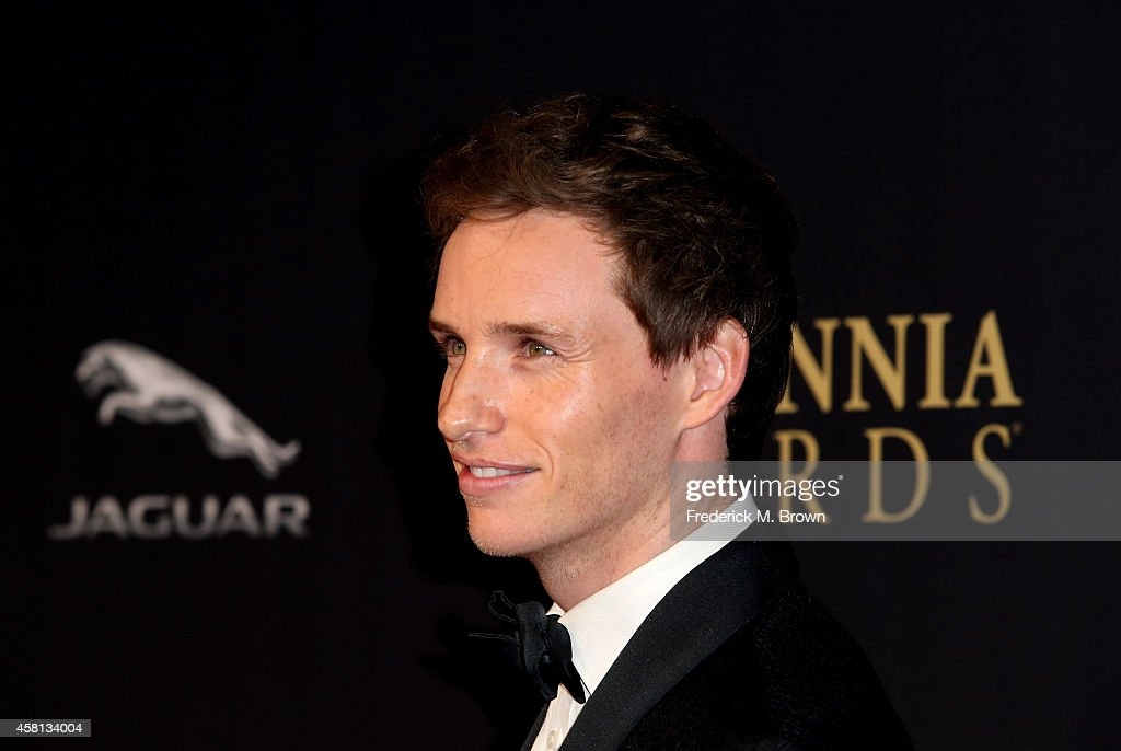 Actor Eddie Redmayne attends the BAFTA Los Angeles Jaguar Britannia Awards presented by BBC America and United Airlines at The Beverly Hilton Hotel on October 30, 2014 in Beverly Hills, California.
