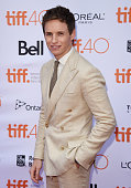 Actor Eddie Redmayne attends 'The Danish Girl' premiere during the 2015 Toronto International Film Festival at the Princess of Wales Theatre on...