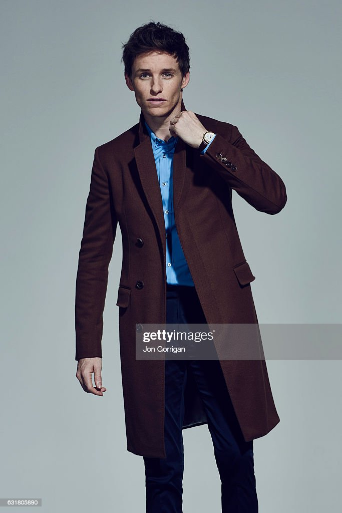Actor Eddie Redmayne is photographed for the Telegraph magazine on November 28, 2015 in London, England.