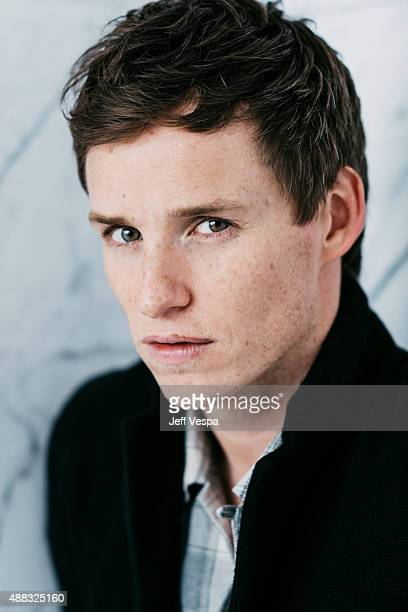 Actor Eddie Redmayne of 'The Danish Girl' poses for a portrait at the 2015 Toronto Film Festival at the TIFF Bell Lightbox on September 14 2015 in...