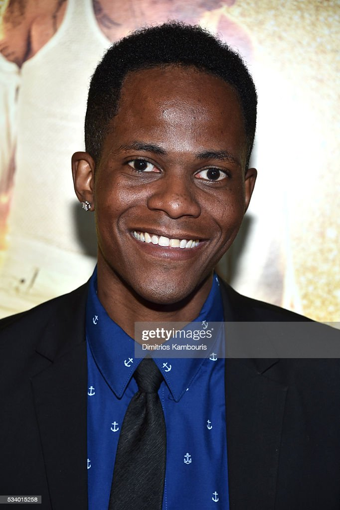 Actor Edgar Blackmon attends 'Popstar: Never Stop Never Stopping' at AMC Loews Lincoln Square 13 theater on May 24, 2016 in New York City.