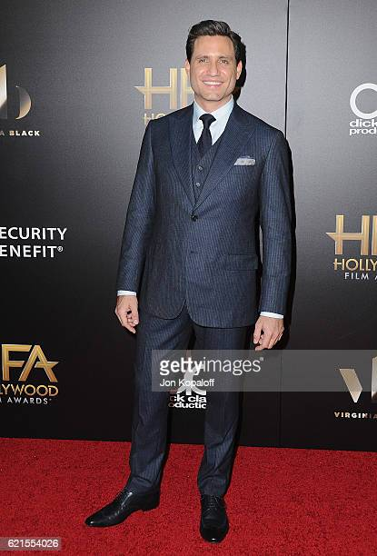 Actor Edgar Ramirez arrives at the 20th Annual Hollywood Film Awards at the Beverly Hilton Hotel on November 6 2016 in Los Angeles California