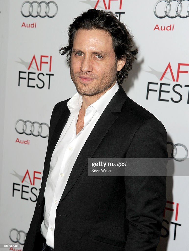 Actor Edgar Ramirez arrives at the 'Zaytoun' screening during AFI Fest 2012 presented by Audi at Grauman's Chinese Theatre on November 7, 2012 in Hollywood, California.