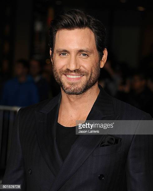 Actor Edgar Ramirez attends the premiere of 'Point Break' at TCL Chinese Theatre on December 15 2015 in Hollywood California
