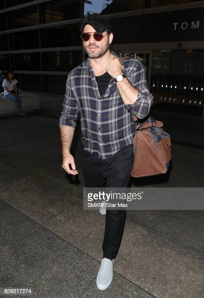 Actor Edgar Ramirez is seen on August 4 2017 in Los Angeles California