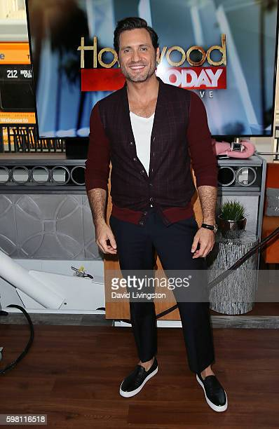 Actor Edgar Ramirez visits Hollywood Today Live at W Hollywood on August 31 2016 in Hollywood California