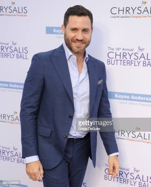 Actor Edgar Ramrez arrives at the 16th Annual Chrysalis Butterfly Ball at a private residence on June 3 2017 in Brentwood California
