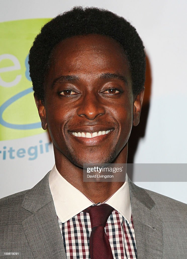 Actor Edi Gathegi attends the Bold Ink Awards at the Eli and Edythe Broad Stage on November 5 2012 in Santa Monica California