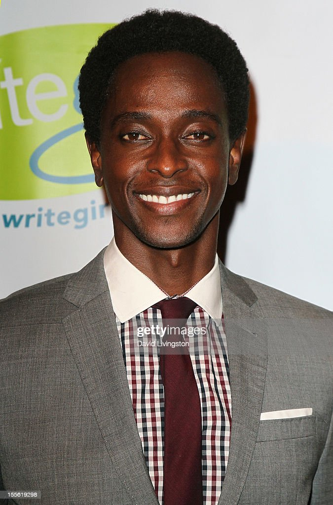 Actor Edi Gathegi attends the Bold Ink Awards at the Eli and Edythe Broad Stage on November 5, 2012 in Santa Monica, California.