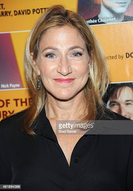 Actor Edie Falco attends 'Fool For Love' Broadway Opening Night at Samuel J Friedman Theatre on October 8 2015 in New York City