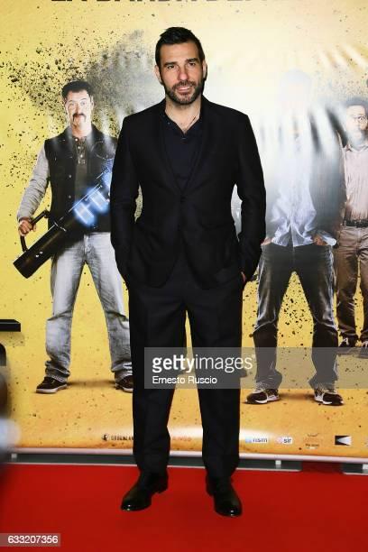 Actor Edoardo Leo attends a photocall for 'Smetto Quando Voglio Masterclass' at The Space Moderno on January 31 2017 in Rome Italy