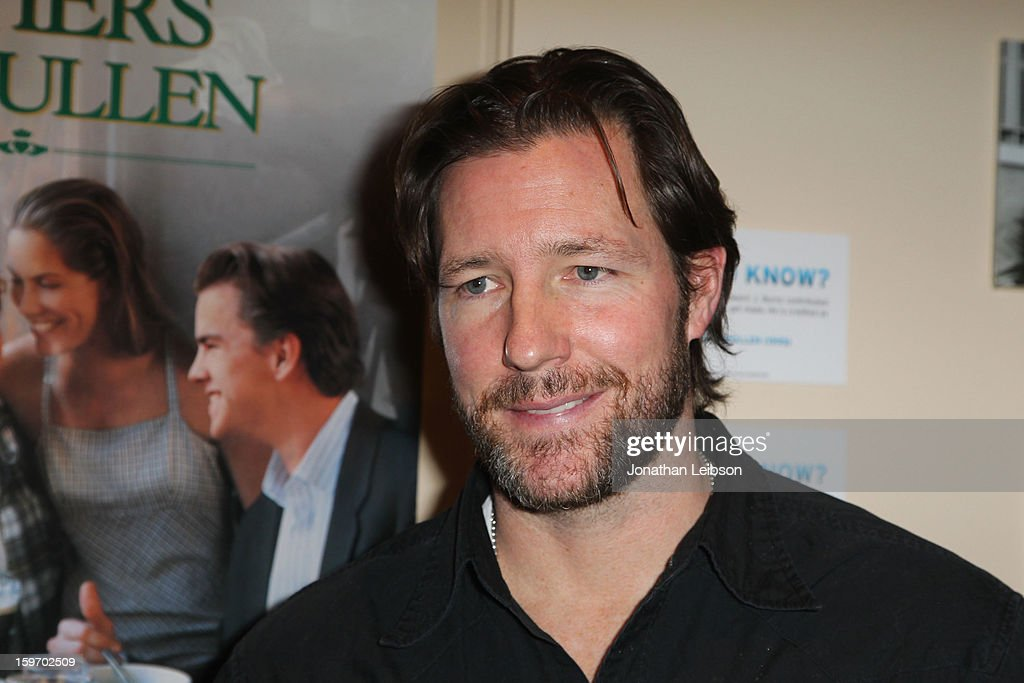 Actor Edward Burns attends the Chase Sapphire VIP Event at Chase Sapphire during the 2013 Sundance Film Festival on January 18, 2013 in Park City, Utah.