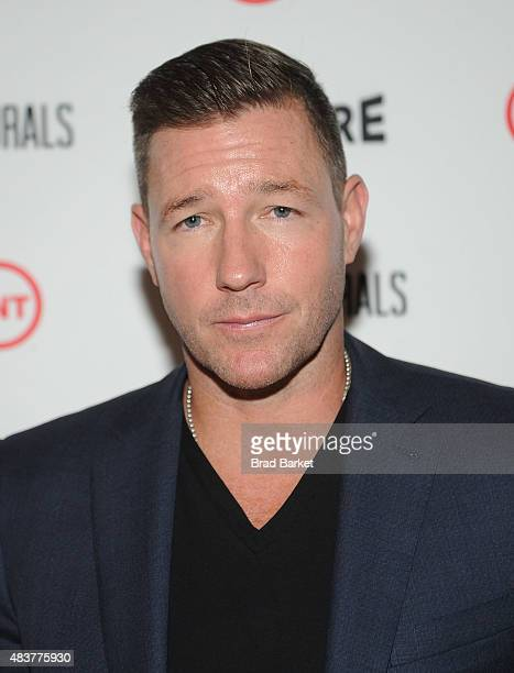 Actor Edward Burns attends The NYMag Vulture TNT Celebrate the Premiere of 'Public Morals' on August 12 2015 in New York City