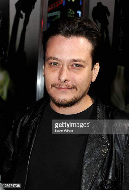 Actor Edward Furlong arrives at Columbia Pictures' 'The Green Hornet' premiere at Grauman's Chinese Theatre on January 10 2011 in Hollywood California