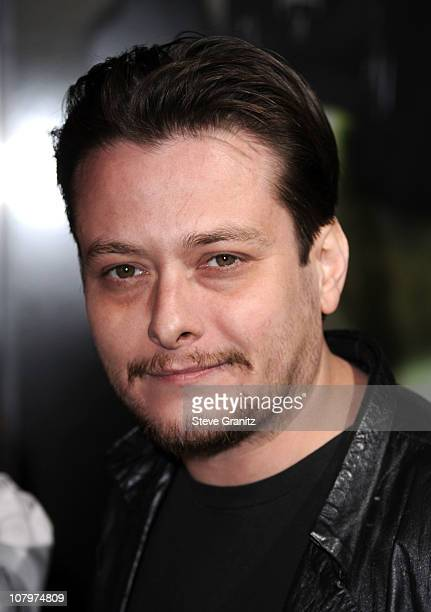 Actor Edward Furlong arrives at 'The Green Hornet 3D' Los Angeles Premiere held at Grauman's Chinese Theatre on January 10 2011 in Hollywood...