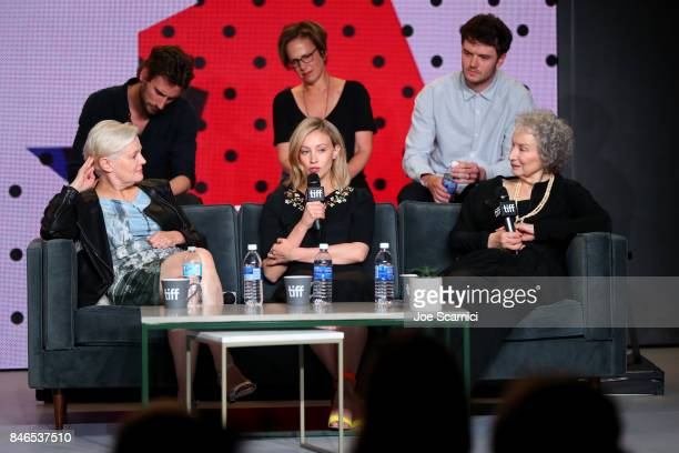 Actor Edward Holcroft executive producer Noreen Halpern actor Kerr Logan director Mary Harron actress Sarah Gadon screenwriter/producer Margaret...