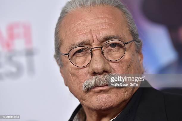 Actor Edward James Olmos arrives at AFI FEST 2016 Presented by Audi Opening Night Premiere of 20th Century Fox's 'Rules Don't Apply' at TCL Chinese...