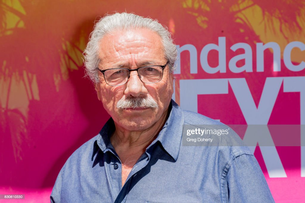Actor Edward James Olmos arrives for the 2017 Sundance NEXT FEST at The Theater at The Ace Hotel on August 12, 2017 in Los Angeles, California.
