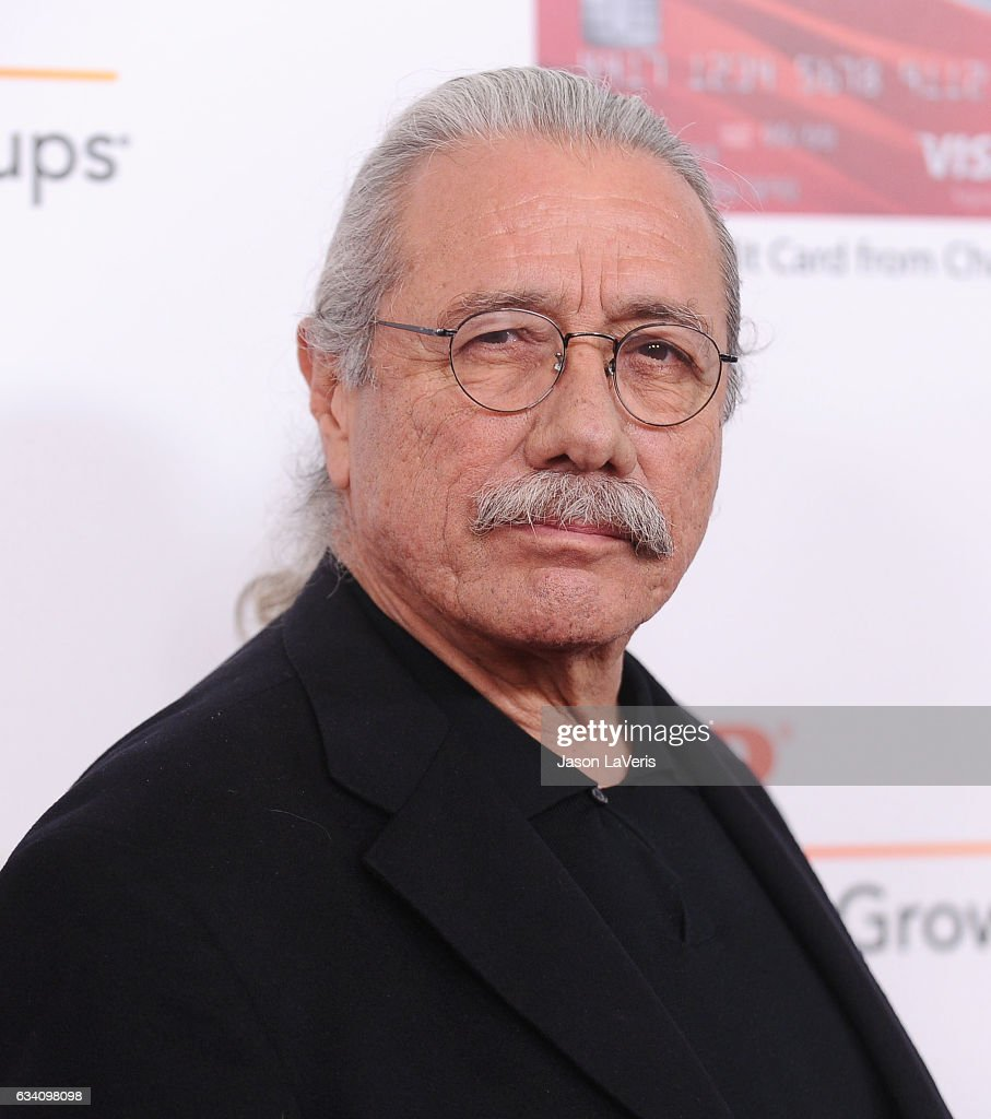 Actor Edward James Olmos attends AARP's 16th annual Movies For Grownups Awards at the Beverly Wilshire Four Seasons Hotel on February 6, 2017 in Beverly Hills, California.