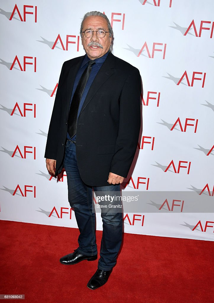 Actor Edward James Olmos attends the 17th annual AFI Awards at Four Seasons Los Angeles at Beverly Hills on January 6, 2017 in Los Angeles, California.