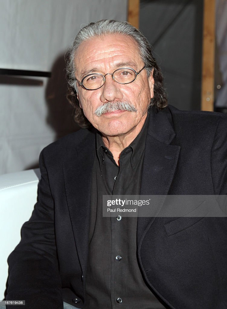 Actor Edward James Olmos attends the Homeward Bound Telethon at American Legion Hall on November 10, 2013 in Los Angeles, California.