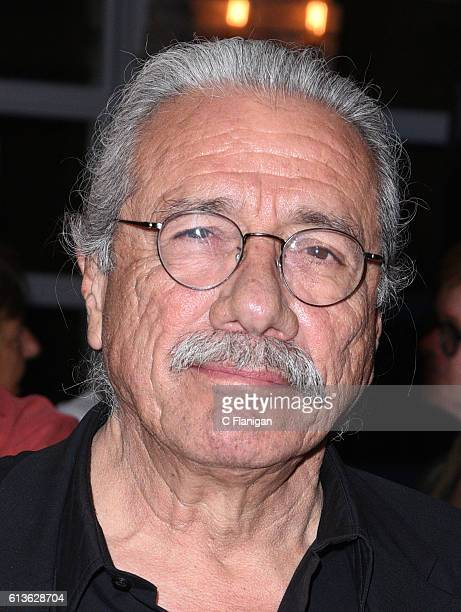 Actor Edward James Olmos attends the Premiere Of 'Katie Says Goodbye' And 'Monday Nights At Seven' After Party during the 39th Mill Valley Film...