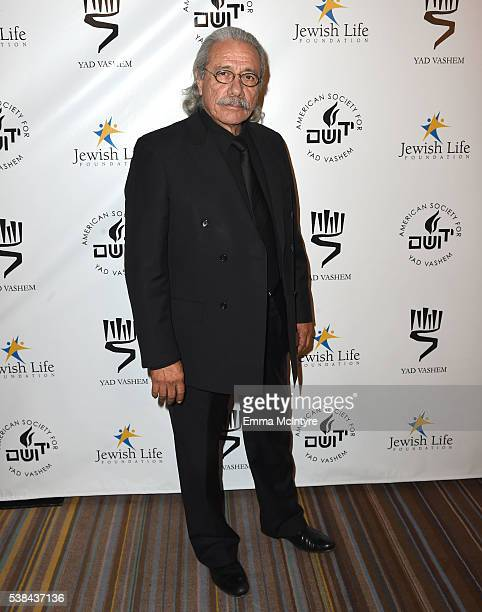 Actor Edward James Olmos attends the Salute to Hollywood Benefit Gala at the Beverly Wilshire Four Seasons Hotel on June 6 2016 in Beverly Hills...