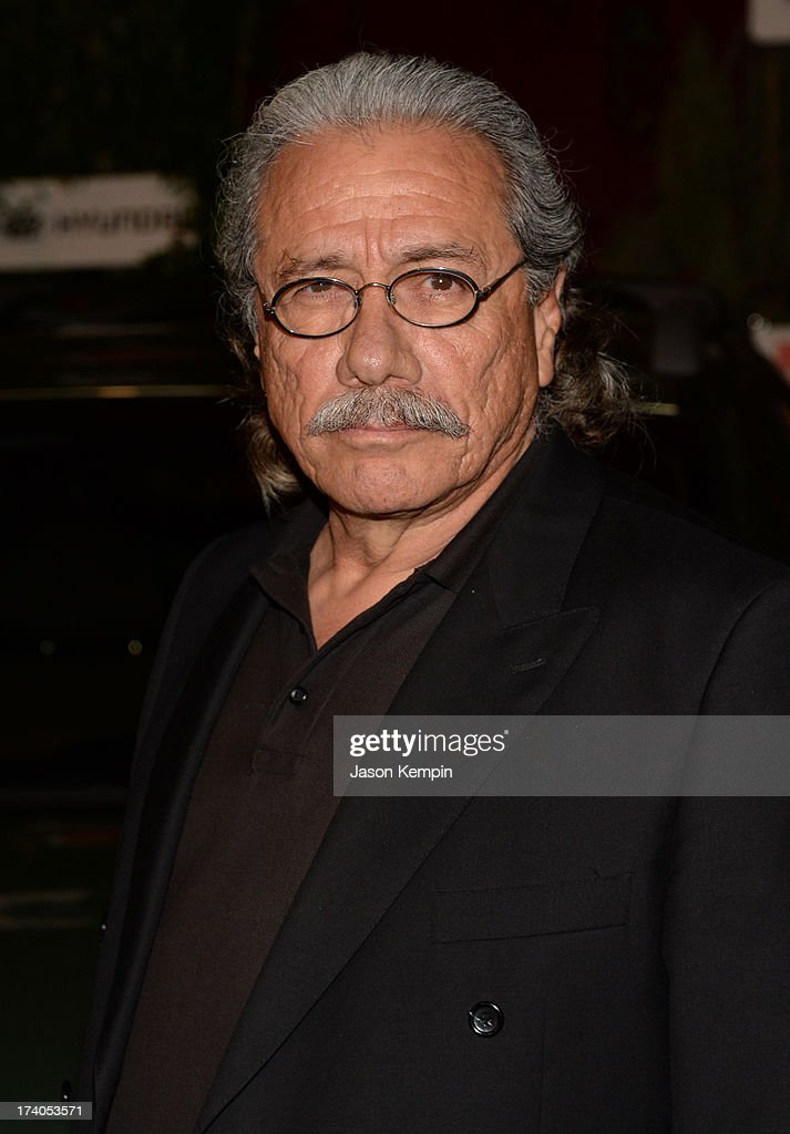 Actor <a gi-track='captionPersonalityLinkClicked' href=/galleries/search?phrase=Edward+James+Olmos&family=editorial&specificpeople=213817 ng-click='$event.stopPropagation()'>Edward James Olmos</a> attends 'The Walking Dead' 10th Anniversary Celebration Event during Comic-Con 2013 on July 19, 2013 in San Diego, California.