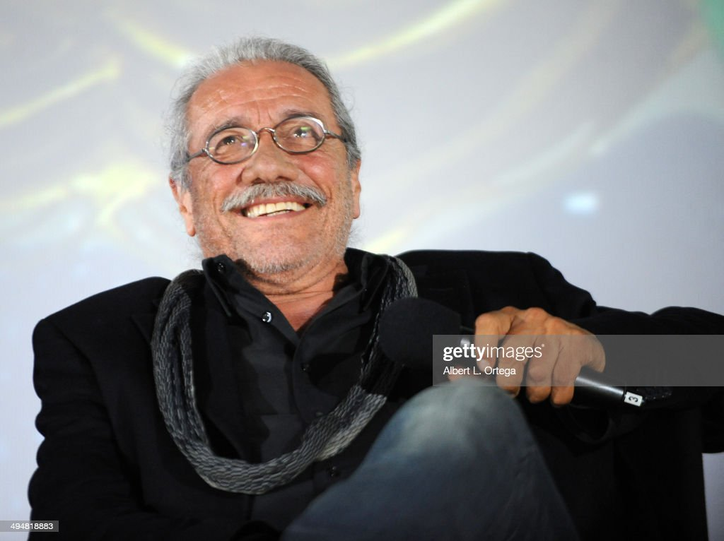 Actor Edward James Olmos participates in the 5th Annual Hero Complex Film Festival - 'Battlestar Galactica' Screening and Q&A held at the TCL Chinese Theater on May 30, 2014 in Hollywood, California.