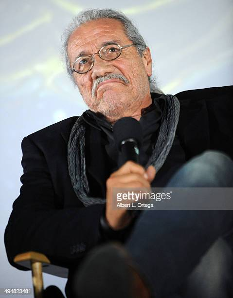 Actor Edward James Olmos participates in the 5th Annual Hero Complex Film Festival 'Battlestar Galactica' Screening and QA held at the TCL Chinese...