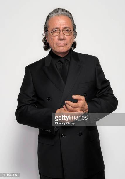 Actor Edward James Olmos poses for a portrait during the 2011 NCLR ALMA Awards held at Santa Monica Civic Auditorium on September 10 2011 in Santa...