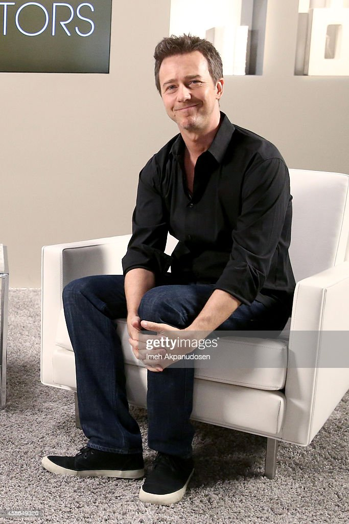 Actor Edward Norton attends day one of Variety Studio: Actors On Actors presented by Samsung Galaxy on November 8, 2014 in Los Angeles, California.