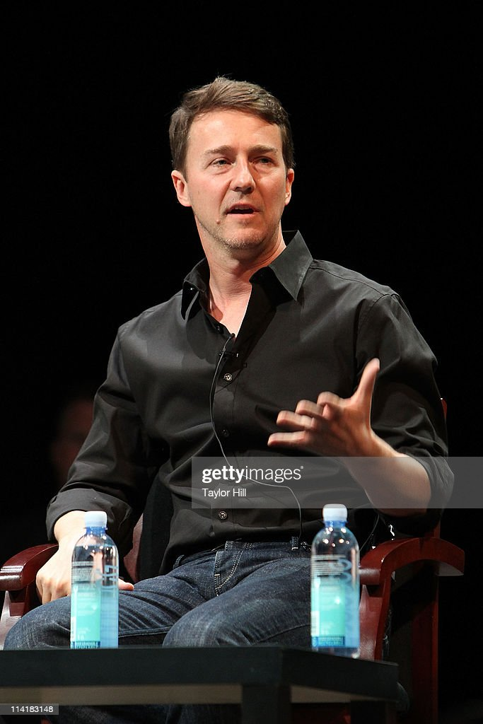 Actor <a gi-track='captionPersonalityLinkClicked' href=/galleries/search?phrase=Edward+Norton&family=editorial&specificpeople=210580 ng-click='$event.stopPropagation()'>Edward Norton</a> attends the Newark Peace Education Summit at New Jersey Performing Arts Center on May 14, 2011 in Newark, New Jersey.