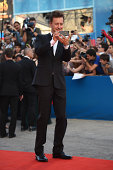 Actor Edward Norton attends the Opening Ceremony and 'Birdman' premiere during the 71st Venice Film Festival at Palazzo Del Cinema on August 27 2014...