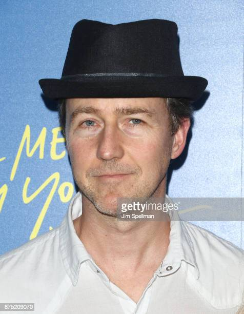 Actor Edward Norton attends the screening of Sony Pictures Classics' 'Call Me By Your Name' hosted by Calvin Klein and The Cinema Society at Museum...